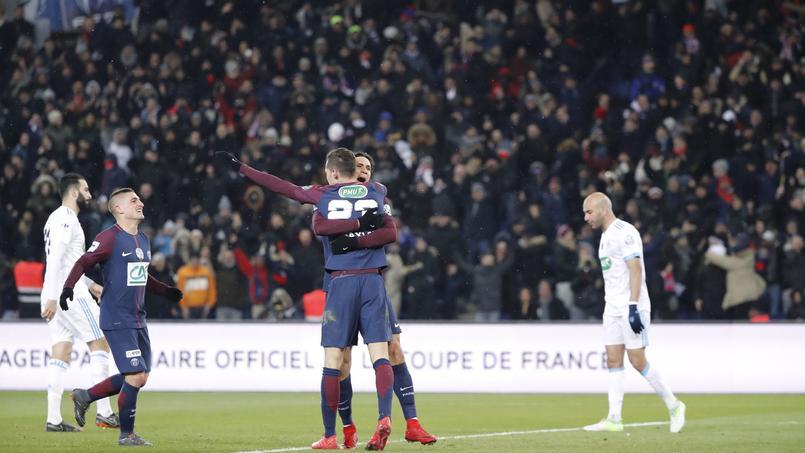 PSG-OM en Πde finale de Coupe de France 2018.