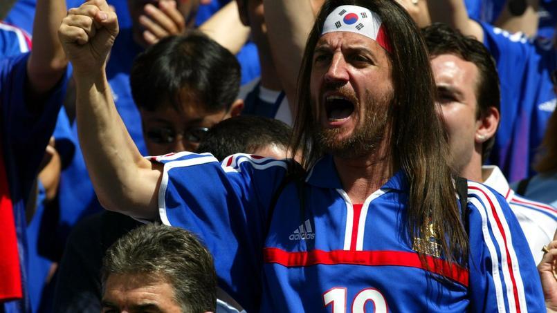 Francis Lalanne au Mondial 2002 en Corée du Sud.