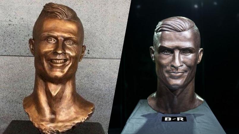 Un an après, retour sur le drôle de buste de Cristiano Ronaldo