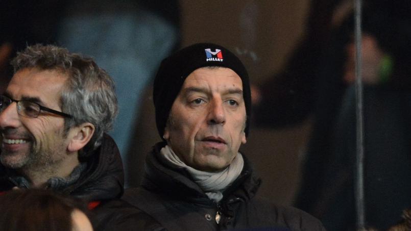 Michel Cymes au Parc lors d'un PSG-OM en 2013.