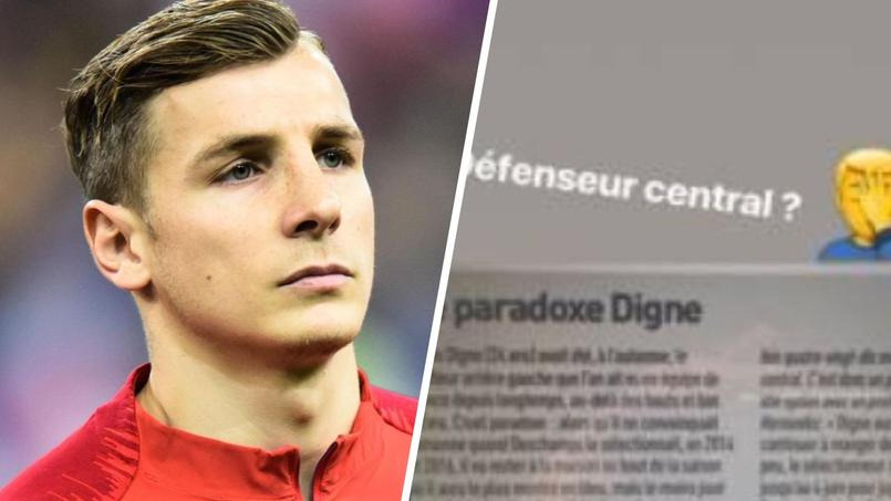Digne n'a pas aimé les explications de Deschamps — EdF