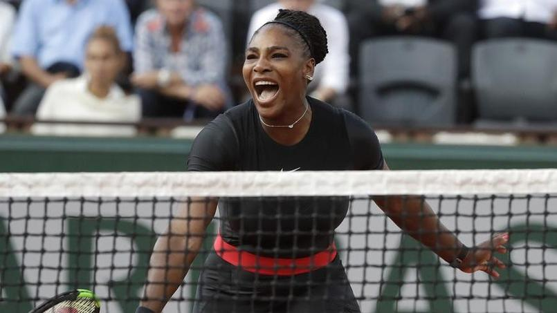 Abandon de Serena Williams — Roland-Garros