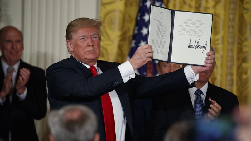 Donald Trump ordonne la création d'une «force spatiale»