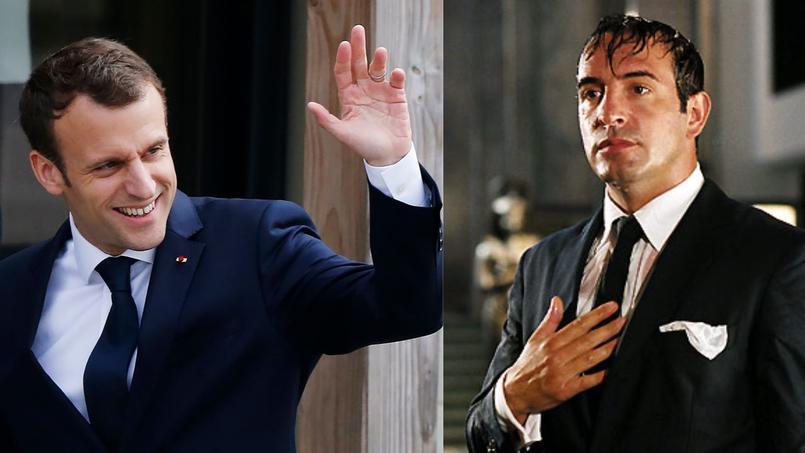 Pour Jean Dujardin, Emmanuel Macron est un OSS 117 qui s'ignore