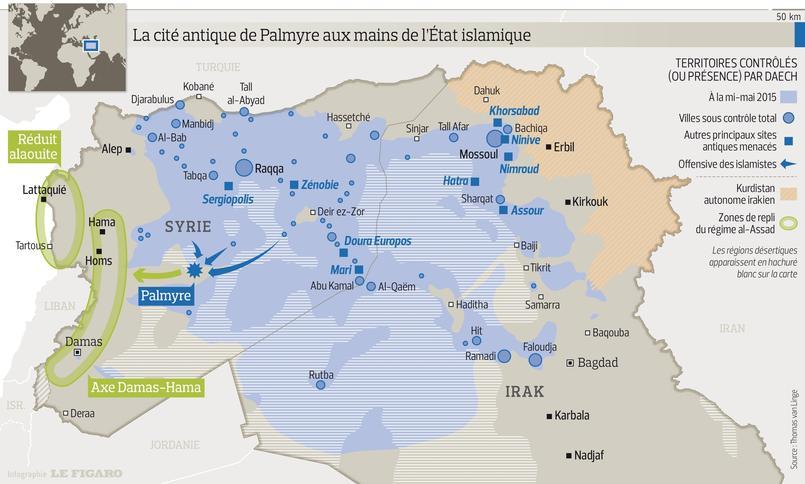 syrie irak les territoires sous le joug de daech. Black Bedroom Furniture Sets. Home Design Ideas