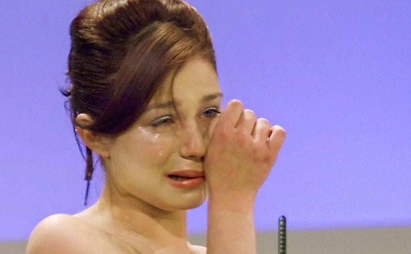 Émilie Dequenne remporte le prix d'interprétation féminine pour son rôle de «Rosetta».