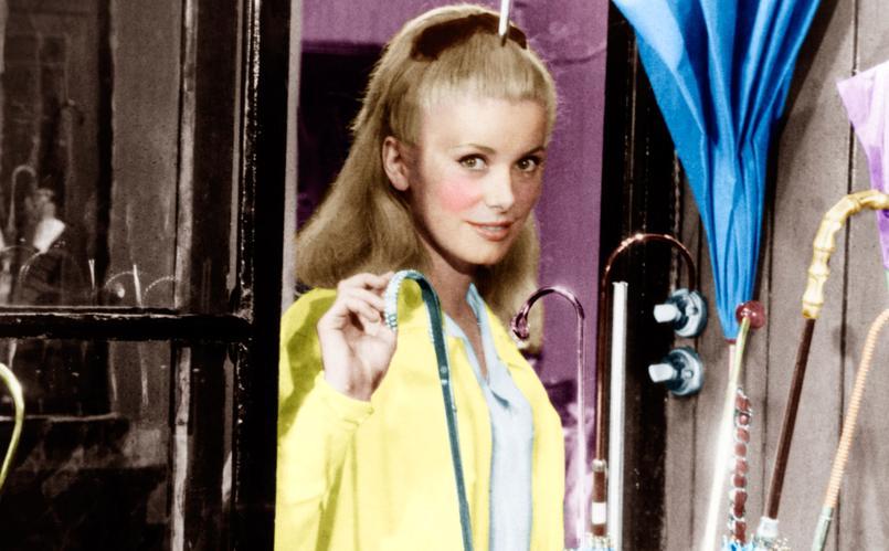 Catherine Deneuve dans «Les parapluies de Cherbourg» en 1964.