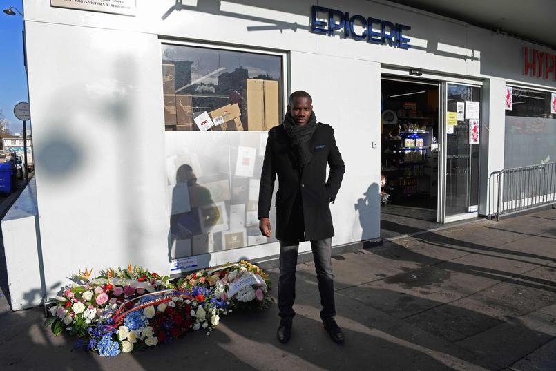 Lassana Bathily était un employé de l'Hyper Cacher lors de la prise d'otage du 9 janvier 2015 par Amedy Coulibaly.