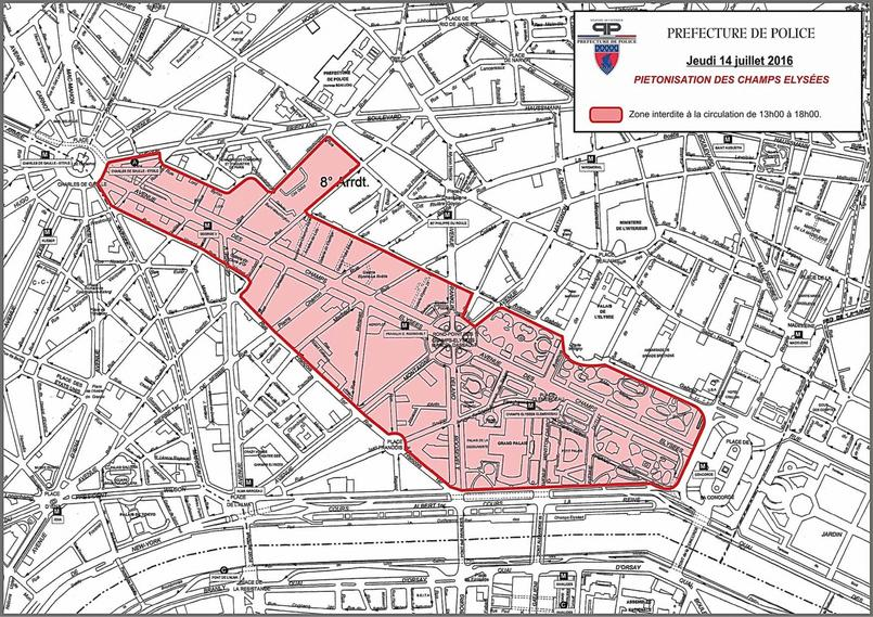 D fil concert comment circuler paris ce 14 juillet - Prefecture de police porte de clignancourt ...