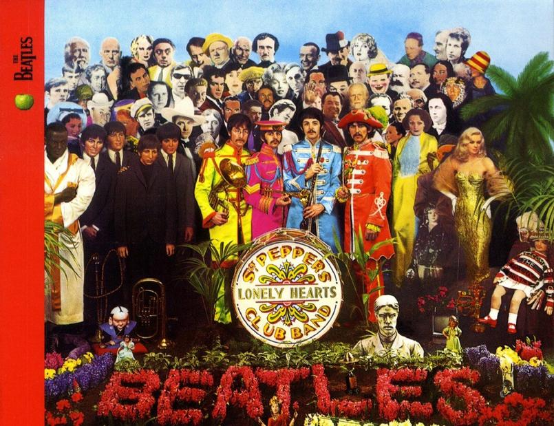 Pochette de l'album Sergent Pepper Lonely Hearts Club Band
