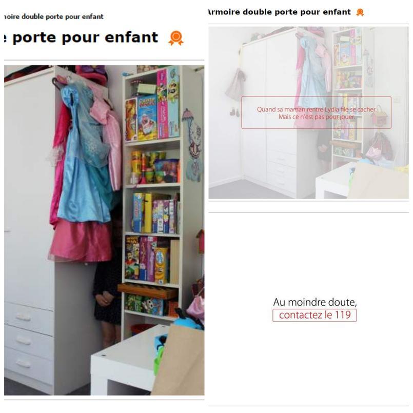 Captures d'écran du site Leboncoin.fr. Crédits photo: PicMonkey/Leboncoin.fr