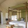 Une ambiance digne du film «Out of Africa» dans cette tente de luxe du Little Chem Chem décorée avec goût.