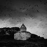 Gdouts, région de Van, Turquie, 2002Monastère arménien de Gdouts Anapat (XVe siècle) édifié sur une île dans la province du Vaspourakan.