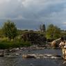 Frontière naturelle entre la Lozère et le Cantal, la rivière le Bès est le paradis des pêcheurs. D'avril à juin Fred Remise arpente les cours d'eau en cuissarde.