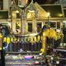 Le sanctuaire hindouiste d'Erawan après l'explosion.
