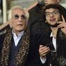 L'acteur Gérard Darmon, fan du PSG, n'a rien manqué de la rencontre.