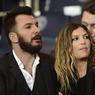 Michaël Youn et sa femme, l'actrice Isabelle Funaro, n'ont pas manqué le Classique du championnat de France.