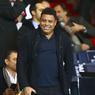 Ronaldo, légende du football, était encore présent au Parc des Princes. On l'avait déjà aperçu lors de PSG-OM.