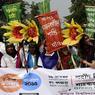 Au Bangladesh, plus de 5000 personnes ont pris part à des marches pour le climat dans une trentaine de lieux.