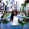 La police a estimé à plus de 2500 les manifestants dans la capitale des Philippines. Leur nombre devait grossir pendant la journée, d'autres manifestations étant prévues.