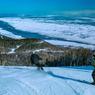 Malgré une altitude qui ne dépasse pas 800 mètres, le Massif, dans la province du Charlevoix, est l'un des domaines skiables les plus prisés du Québec.