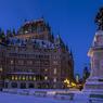 Québec, l'une des plus anciennes villes d'Amérique du Nord, où la rigueur de l'hiver forge la culture québécoise.