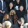 Michel Drucker et Catherine Deneuve ont fait le déplacement pour dire adieu à leur ami.