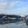 Le camp du basroch, à Grande-Synthe, dans la banlieue de Dunkerque, abrite entre 2500 et 3000 personnes.