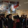 De nombreux écoliers ont visité l'exposition au nouveau musée de la bande dessinée d'Angoulême.