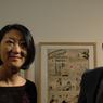 La ministre de la Culture, Fleur Pellerin est venue inaugurer l'exposition, consacrée au travail du dessinateur Morris, ce jeudi 28 janvier à Angoulême.
