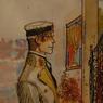Le festival d'Angoulême consacre une exposition au talentueux aquarelliste Hugo Pratt, créateur du personnage de Corto Maltese.