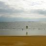 L'horizon pour soi seul, ou presque. Telle est la promesse de Houat en hiver, pour le plus grand bonheur des kite surfeurs et des promeneurs solitaires.