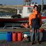 Johanna Blanchet de la Compagnie des ports du Morbihan savoure sa qualité de vie hoëdicaise.