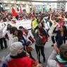 En Belgique, une marche mondiale en l'honneur des droits de la femme a été organisée dans le centre-ville de Bruxelles. Cette année, cette marche symbolique et festive était dédiée aux droits des femmes réfugiées.