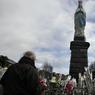 Le sanctuaire de la Vierge à Lourdes.