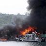 TOUCHÉ-COULÉ. L'Indonésie et son président Jokjo Widodo ont déclaré la guerre à la pêche illégale. Depuis plusieurs mois, le Ministère des Affaires Maritimes et de la Pêche applique fermement sa politique de destruction des bateaux reconnus coupables de ce genre d'activité. Mardi 5 avril, près de 28 embarcations ont été coulées simultanément dans les eaux territoriales indonésiennes. Depuis la fin 2014, 170 bateaux ont été mis hors d'état et provenaient du Vietnam, des Philippines, de Thaïlande et de Malaisie.