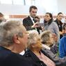 ÉVACUÉS. Ce mercredi 1er juin, la ministre de l'Environnement Ségolène Royal a rendu visite aux sinistrés de la ville de Nemours, fortement touchée par les inondations. Valérie Lacroute, la maire de la commune (ici à droite de l'image) a demandé l'évacuation de nombreux habitants qui ont été hébergés dans un gymnase. De nouvelles pluies annoncées pour ce jeudi laissent craindre une aggravation des crues exceptionnelles qui touchent depuis plusieurs jours le pays.