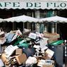 PARIS POUBELLE.Pour les Parisiens, fatigués par les grèves dans les transports, écœurés par les dégradations commises par certains participants de Nuit debout, place de la République, puis par celles des casseurs au cours des nombreuses manifestations émaillées de violence contre la loi El Khomri, ce fut peut-être le coup de grâce. La semaine dernière, sous l'effet du blocage du principal site de traitement des ordures ménagères de la région parisienne, à l'appel notamment de la CGT, les immondices se sont entassées sur les trottoirs, comme ici devant le célèbre Café de Flore. De quoi décourager une nouvelle fois le tourisme, tout en donnant, en plein Euro 2016 de football, une image désastreuse d'un pays paralysé et hors de contrôle.