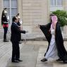 UN PRINCE À PARIS. Ce lundi 27 juin, François Hollande recevait le vice-prince héritier d'Arabie saoudite, à l'Elysée. Mohammed Bin Salman, également ministre de la Défense, est venu évoquer « l'excellente opportunité pour les entreprises françaises » que représente le plan Vision 2030 qui prévoit de nombreuses privatisations et une diversification du tissu économique saoudien. Cette visite pourrait être l'occasion de signer plusieurs contrats d'armements.