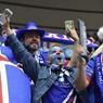 Une petite quinzaine de milliers d'Islandais avaient réussi à trouver des places pour ce choc des quarts de finale entre le pays organisateur et la nation surprise de l'Euro.