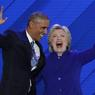DERNIER COUP DE POUCE. La candidate démocrate Hillary Clinton a reçu comme prévu son meilleur soutien en la personne de Barack Obama, qui a réitéré sa confiance envers celle qui fut son adversaire lors de la primaire démocrate de 2009, puis sa secrétaire d'Etat jusqu'en 2013.