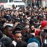 Entre 600 et un millier de personnes, respectivement selon la police ou les organisateurs, s'étaient rassemblées.