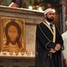 SOLIDARITE : Tout comme en France, les musulmans italiens se sont joints aux catholiques durant la messe, comme ici dans la basilique Santa Maria du Trastevere, à Rome. Les imams Sami Salem et Mohammed ben Mohammed venaient témoigner de leur empathie suite à l'assassinat du père Jacques Hamel, le 26 juillet dernier.