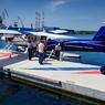 Depuis l'année dernière, on peut rejoindre la plupart des îles croates en hydravion. Le spectacle en vue aérienne est tout simplement divin.