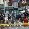 SOUS HAUTE TENSION. Deux jours après de l'explosion d'une bombe à New York (ici en image) qui a fait 29 blessés, la police et le FBI ont lancé ce lundi 19 septembre un avis de recherche contre un homme de 28 ans, Ahmad Khan Rahami, qu'ils voudraient interroger à propos de cet attentat. Deux autres attaques sont survenues ce week-end aux Etats-Unis dont l'une a été revendiquée par le groupe Etat islamique.