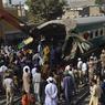 ACCIDENT. Au moins 20 personnes ont été tuées et des dizaines d'autres ont été blessées après la collision de deux trains de passagers, jeudi 3 novembre, dans une gare de Karachi. Les circonstances de cet accident survenu dans la zone portuaire de la mégapole du sud du Pakistan, ne sont pas encore connues.