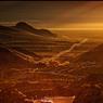Dans les lacets qui filent vers le col de Sitgreaves, dans les Black Mountains, une Mustang offre l'ivresse de l'aventure.