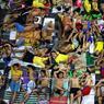 DOUBLE PEINE.Impressionnante photo de la cour de la prison de Quezon City, près de Manille, aux Philippines. Construite en 1953 pour abriter 800 détenus (278, d'après les critères de l'ONU), elle en accueillerait 4053, si tant est qu'un comptage soit possible avec une telle surpopulation. En plus de l'absence totale d'intimité et du manque de sommeil, ces hommes doivent affronter la chaleur, la pluie, la violence des gangs et l'injustice fréquente de leur incarcération, qu'ils doivent dans plus de 60 % des cas à l'hystérie de la politique antidrogue de leur nouveau Président, Rodrigo Duterte. Et dans les dortoirs, c'est encore pire : on a dénombré 85 détenus entassés dans l'un d'entre eux, sur moins de 60 mètres carrés.