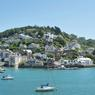 La splendide baie de Dartmouth, dans le Devon : un haut lieu de pèlerinage pour les passionnés d'Agatha Christie.