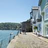 Sur les quais de Dartmouth, la plus jolie ville du Devon, qu'appréciait tant l'auteur de «Mort sur le Nil».